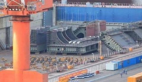 大连造船厂第4艘航母开建  计划未来至少拥有三支航母战斗群