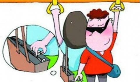 小偷偷手机被车上乘客联手制服  见义勇为获赞